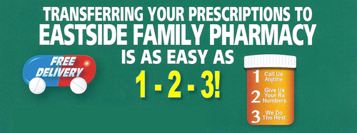 Transfering your prescriptions is easy as 123